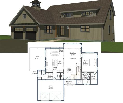 age in place house plans new yankee barn homes floor plans