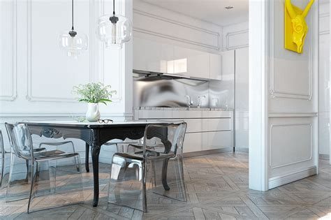 transparent chair small spaces dsigners