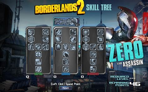 calculator game level 50 borderlands 2 skill tree preview