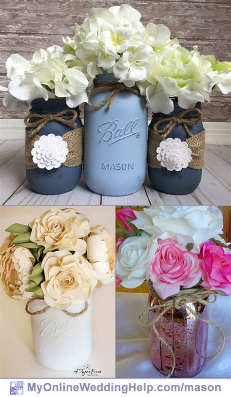 cheap jar centerpieces 19 jar centerpiece ideas for weddings my