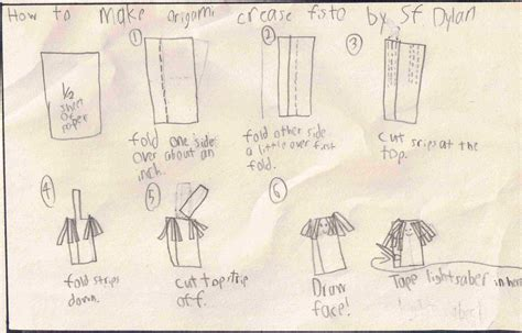 How To Make Origami Kit Fisto - sf dyla s kit fisto origamiyoda