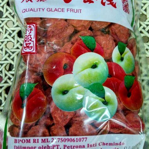Buah Plum buah plum kering merah kiam mei kiam boy food drinks