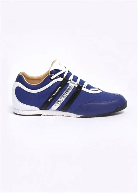 Sepatu Premium Adidas Y3 Yohji Yamamoto y3 adidas yohji yamamoto boxing trainers blue triads mens from triads uk