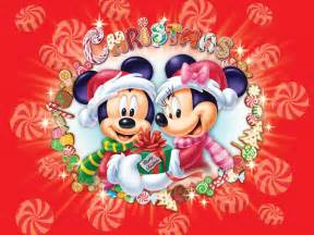 mickey and minnie christmas wallpaper christmas cartoons
