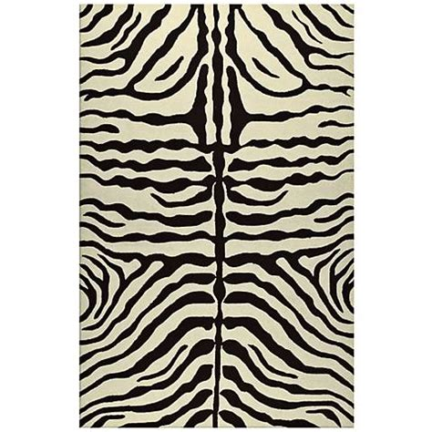 Zebra Stripe Area Rug Zebra Stripe Brown Indoor Outdoor Rug K0190 Ls Plus
