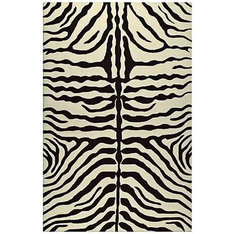 Zebra Print Outdoor Rug Zebra Stripe Brown Indoor Outdoor Rug K0190 Ls Plus