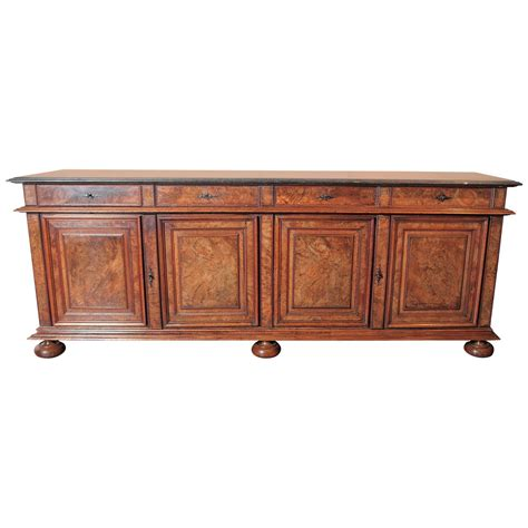 sideboard buffet antique walnut buffet sideboard with marble top at