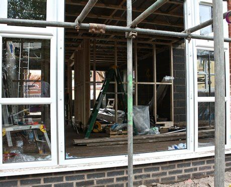 heart house windows the house house looking through the window the heart house in progress heart