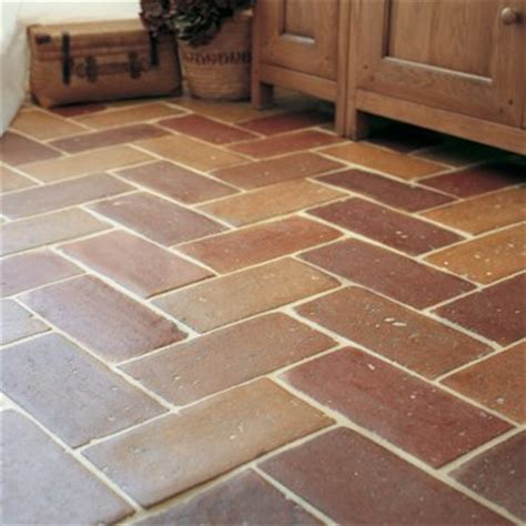 Orange Kitchen Cabinet by Terracotta Floor Tiles Fired Earth