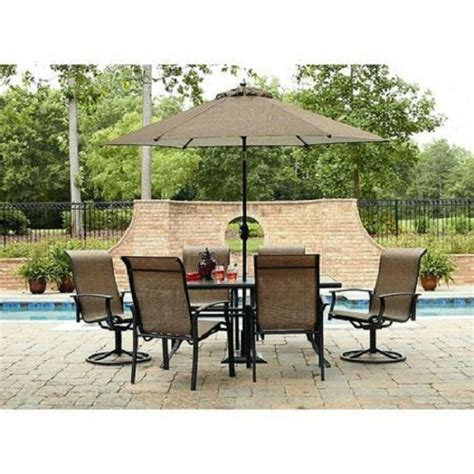pc outdoor patio dining set table chairs seat lawn pool furniture party deck ebay