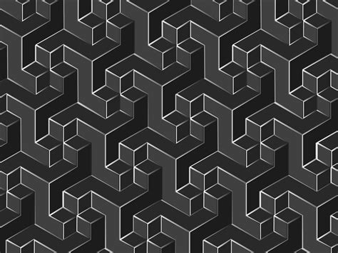 pattern for geometric shapes geometric vector pattern