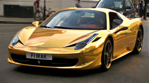 gold cars the gold cars of
