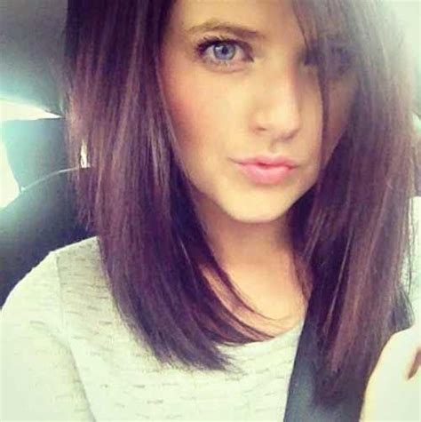 self cut long straight bob 341 best hair bobs angled a line inverted images on pinterest