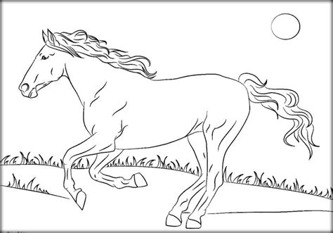 coloring page mustang horse fabulous free horse coloring pages from mustangs to