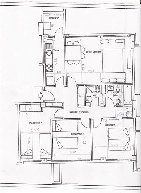 ensanche vallecas emv  documento vallecas  planos piso  medidas nuevosvecinoscom