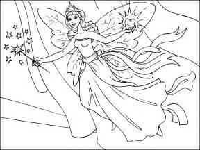 hada magica volando su varita imprimir paracolorear net