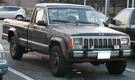 Jeep Comanchie Jeep Comanche Motoburg