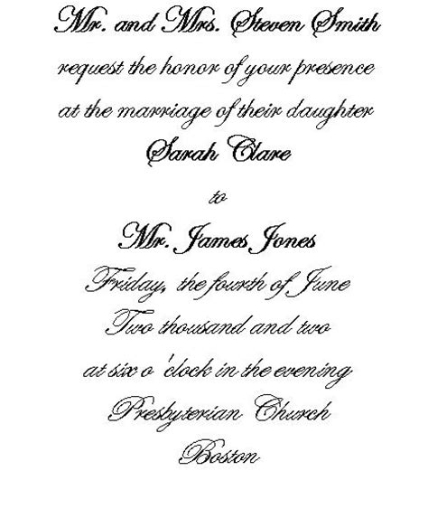Wedding Invitations Writing wedding invitations writing