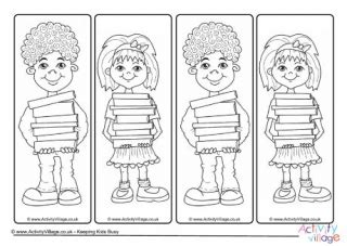 world book day bookmark template world book day