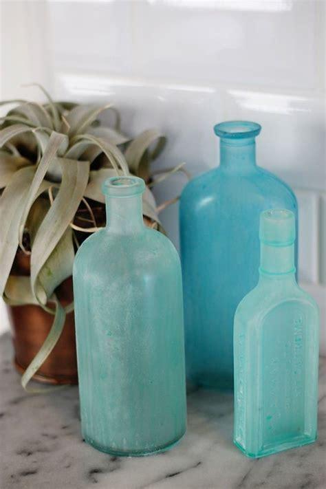 Sea Glass Bottles Ideas Diy Sea Glass Bottles Contributors Column Sea Glass Glass Bottles And Bottle