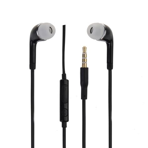 In Ear Earphone Headset Headphone Handfree Mic For Samsung S6 Edge Plu in ear remote mic headphones for samsung galaxy