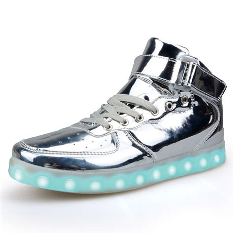 light up high top sneakers light up shoes classic high top light up shoes for adults