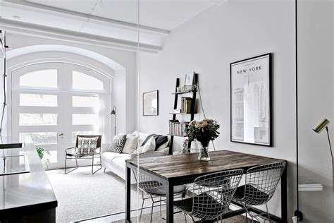 interiors scandinavian style studio apartment apartments idesignarch interior design architecture