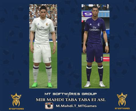 Patch Fifa 2016 For Madrid real madrid 2016 17 kit by mt 1991 pes patch