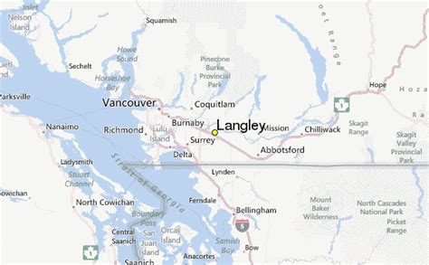 langley weather station record historical weather for