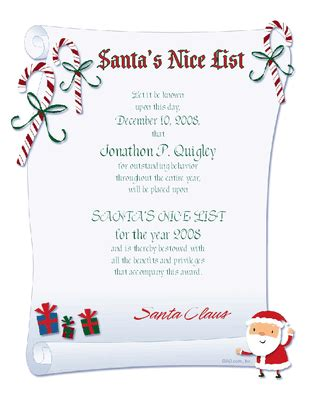 free printable santa letters and certificates free printable nice list certificate new calendar