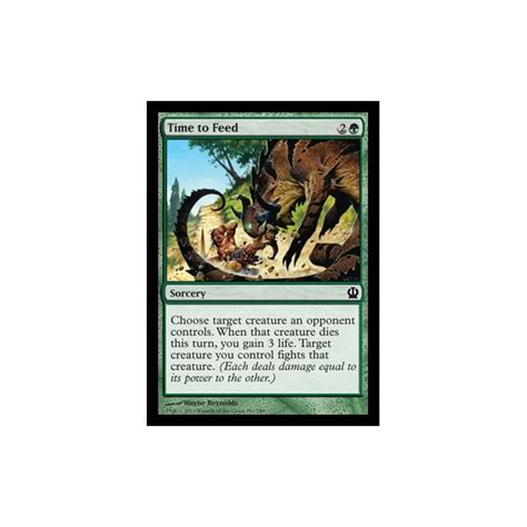 Magic The Gathering Bulk Singles magic the gathering mtg 115 theros single card 181 249 time to feed magic the gathering