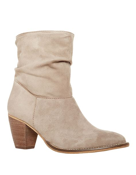 steve madden high heel shoes steven by steve madden welded suede high heel boots in