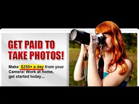Make Money Online Taking Pictures - get paid to take photos make money online just for taking pics with phone youtube