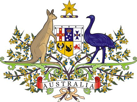 coat of arms of australia in vector format cdr abali ru