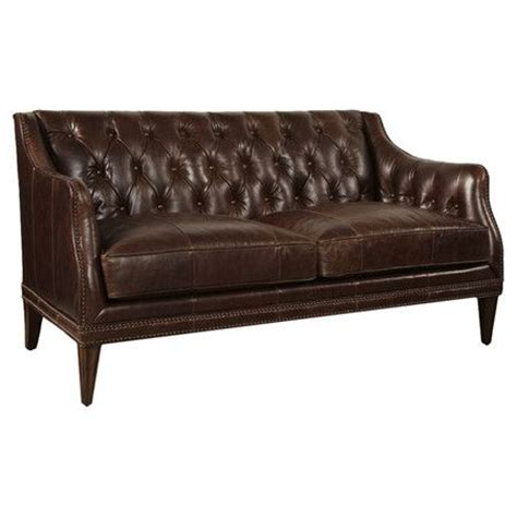 joss and main settee marcus leather settee at joss and main ff e sofa