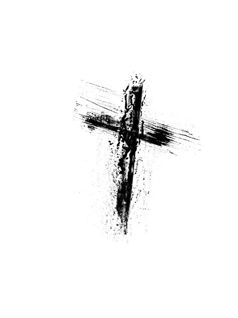 cross tattoo with words the last 7 words of jesus a lenten meditation