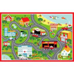 Road Play Rug City Road Map Clipart Bbcpersian7 Collections
