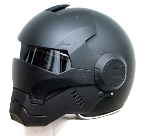 cool motocross helmets masei matt black atomic man 610 open face motorcycle