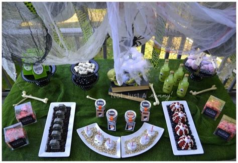 zombie themed birthday party zombie themed party