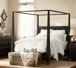 bedroom sets pottery barn pottery barn dawson bed new house master bedroom pinterest dark quilt and canopy beds