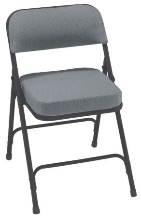 black fabric folding chairs national seating padded folding chair gray fabric