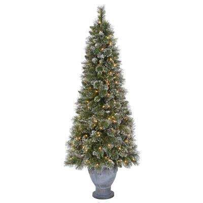 7 fr martha stewart slim christmas tree martha stewart living artificial trees trees the home depot