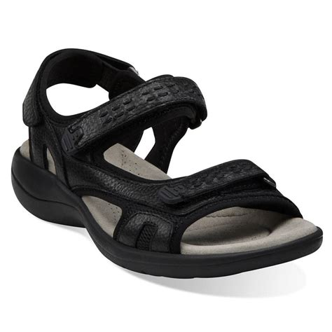 clarks walking sandals clarks womens morse tour walking sandals