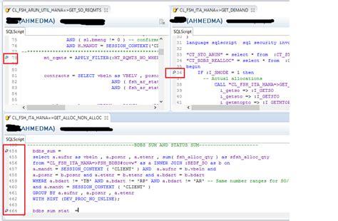 tutorial debug sap tutorial how to debug an abap managed database procedure