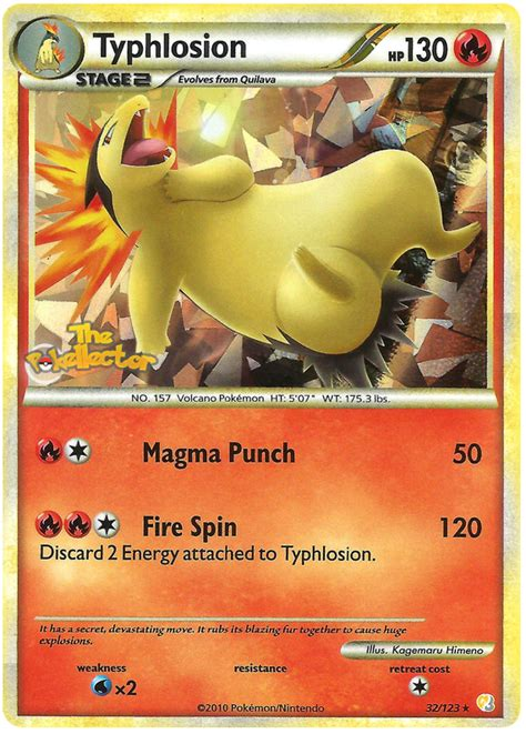 Card Typhlosion typhlosion card x images images