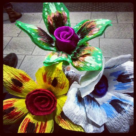 fiori cartapesta fiori carta fiori di carta fiori di carta