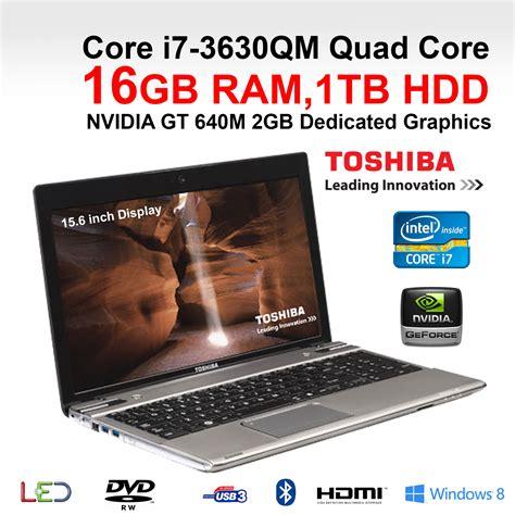 toshiba p p gaming laptop core  qm quad core