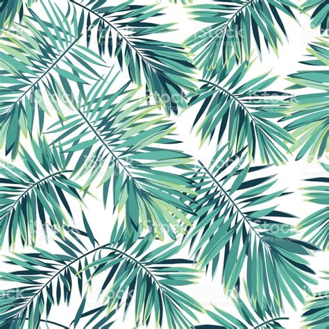 tropical pattern background free tropical pattern with exotic plants seamless vector