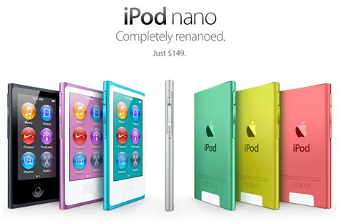 Ipod Nano Multi Touch apple announces new 7th generation ipod nano the mac