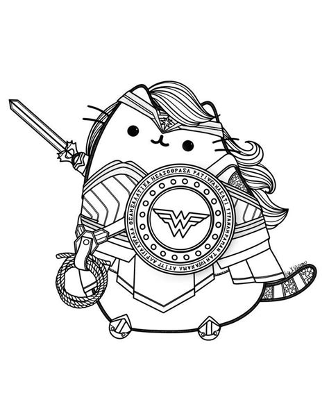 pusheen coloring pages pusheen pusheen coloring pages